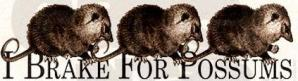 i_brake_for_possums_bumper_sticker